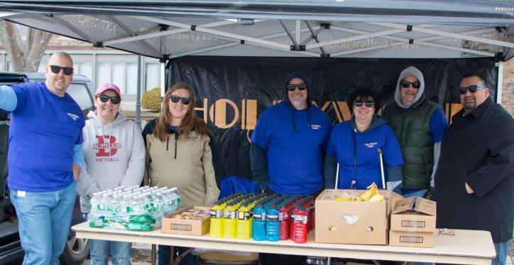 hike for the homeless hollywood casino booth