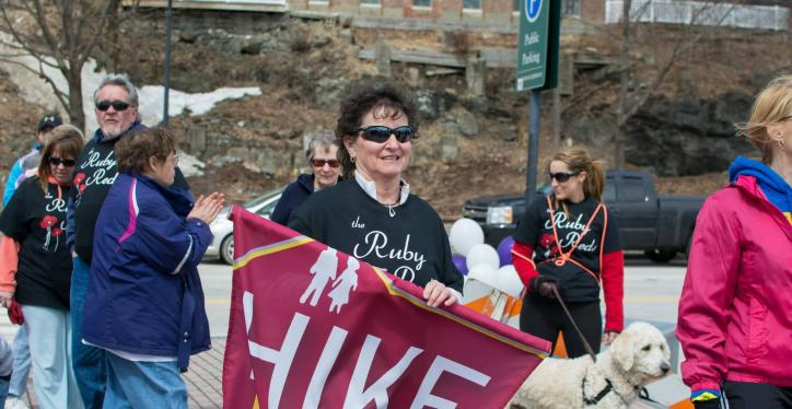 hike for the homeless walkers photo