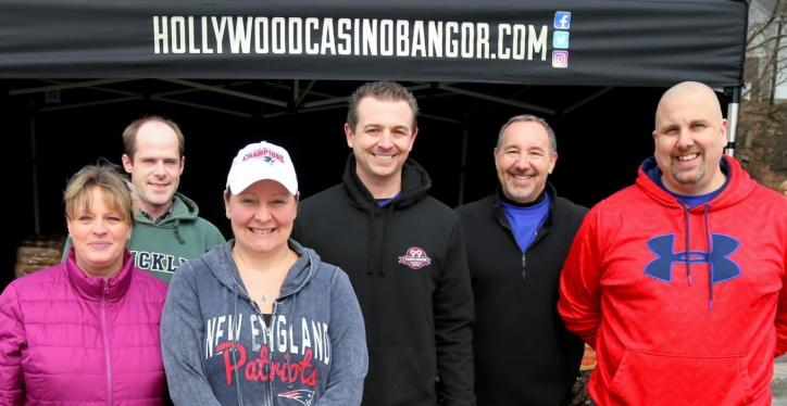 hollywood casino bangor hike for the homeless group